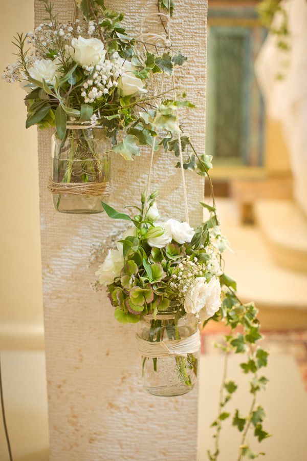 Organic decor for wedding in Pesaro, Italy with photos by Daniele Del Castillo | via junebugweddings.com