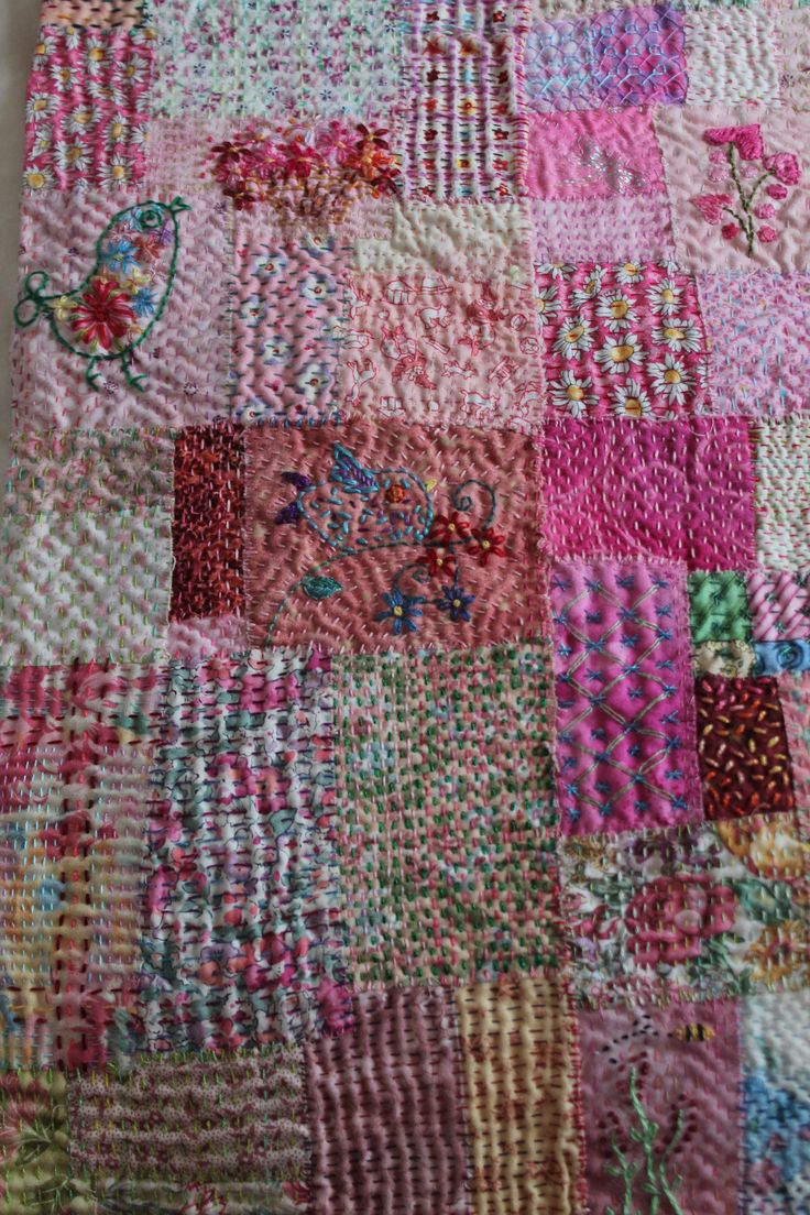 Best 20+ Kantha Stitch ideas on Pinterest Running stitch, Kantha quilt and Indian embroidery