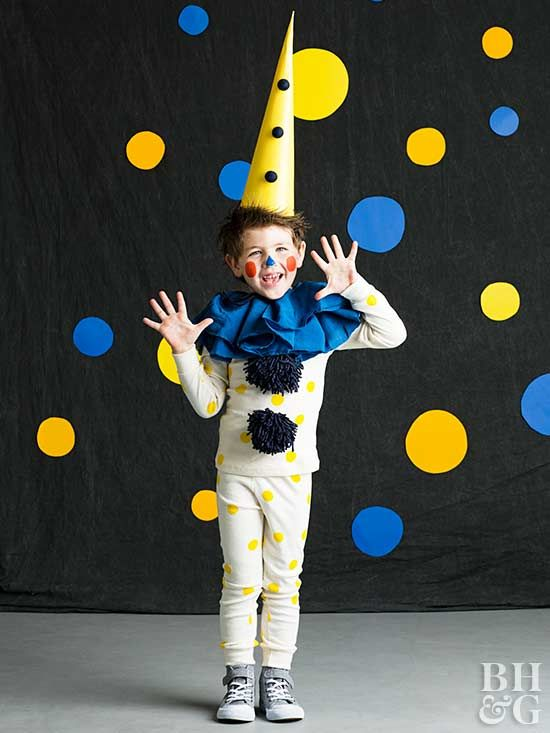 A few whimsical embellishments on an ordinary set of children's long underwear makes this kid's costume so easy!