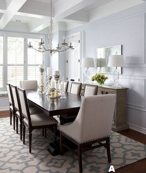Dining Room Rugs To Place A Properly Sized Rug Under Your Table And Chairs Measure
