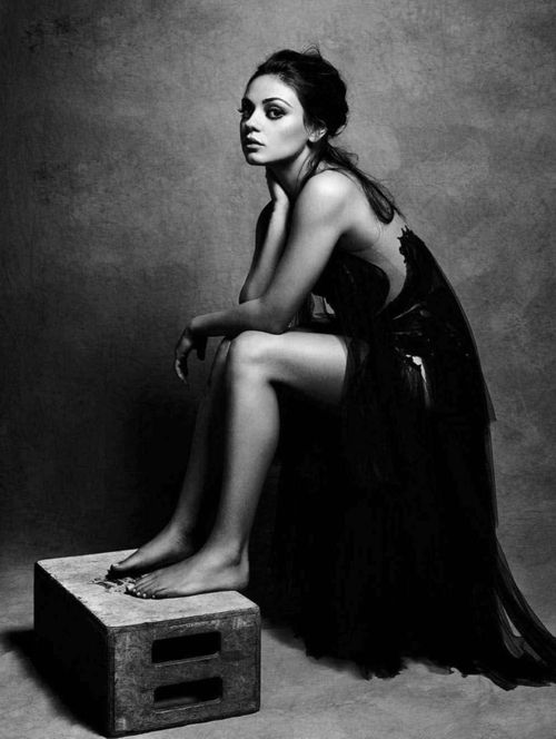mila kunis~~an intelligent gutsy girl..Ukrainian. Love these people so much~~Roman, my computer helper  @ the store,  has been in America for 10 years..so smart and direct and completely manly in all ways..Eastern European men are HOT!