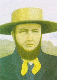 Voortrekkers: Hendrik Potgieter. n February 1836, Potgieter's trek party of two hundred souls in sixty wagons crossed the Orange River in Trichardt's tracks. Potgieter was 42 at the time, a tall, thin man who married four times (all widows), bearing 17 children. :)
