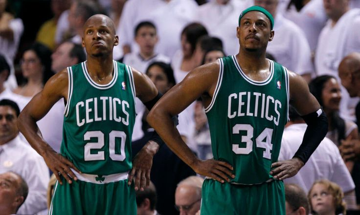 Ray Allen and Paul Pierce attempt to mend rift = The Boston Celtics won the NBA Championship back in 2008, with a cadre of stars which included Kevin Garnett, Paul Pierce, Rajon Rondo, and Ray Allen. The team seemed destined for multiple rings by the time it was all said and done, but.....