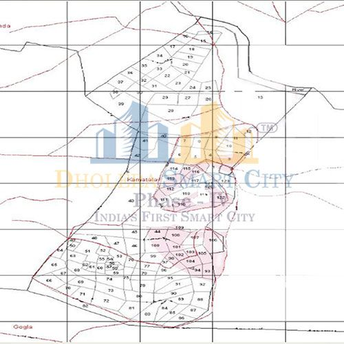 Map of Kamatalav, Dholera. #Dholera #DholeraSIR #DholeraSmartCity #Gujarat