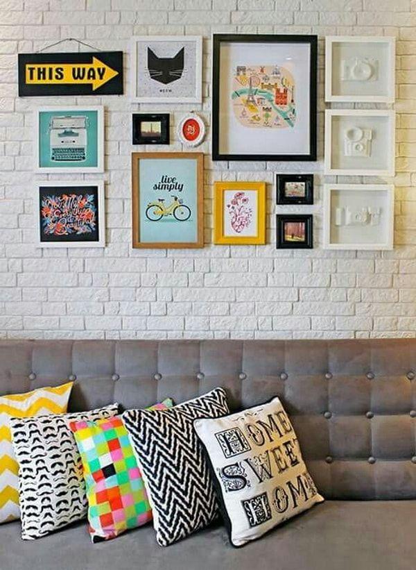 decoracin con cuadros ideas para decorar con cuadros decorativos