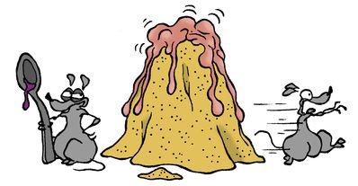 Le volcan à la grenadine   Espace des sciences