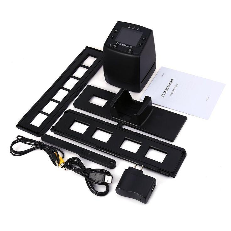 EC717 5MP 35mm Negative Film Slide Viewer Scanner USB Digital Color Photo Copier With 24 Hours Fast Shipping