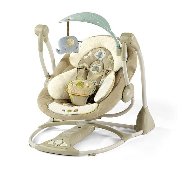 Bright Starts IngenuityTM Smart Quiet Portable SwingTM Kashmir Baby