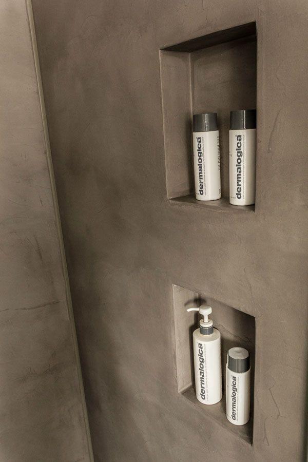 Mit Betonstuck, Betonfliesen, poliertem Beton und Keramikfliesen verleihen Sie Ihrem Bad einen konkreten Look. Wir geben Ihnen hier einige konkrete Beispiele