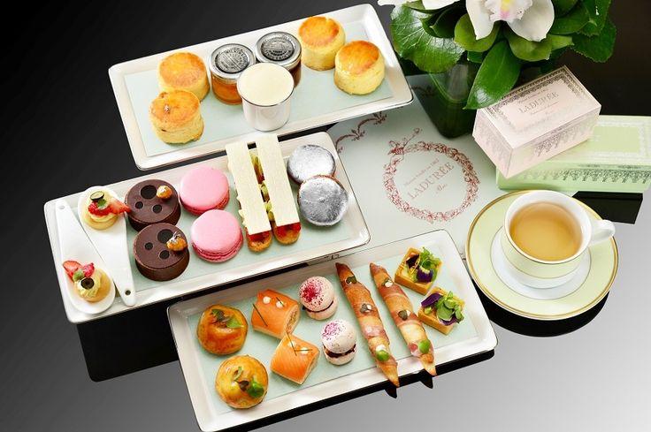 The Landmark Mandarin Oriental Hong Kong & Ladurée Paris