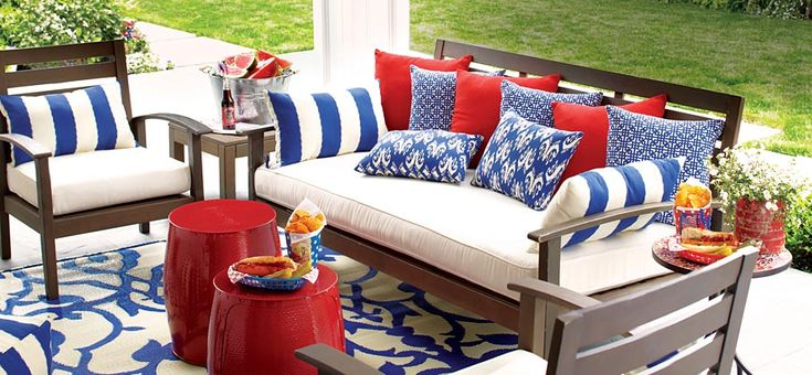 I am in love with Cost Plus World Market's Outdoor Furniture. My deck looks great now.
