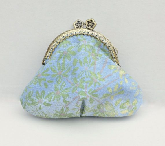 Blue coin purseSmall Blue purse handmade coin by Blackpassion
