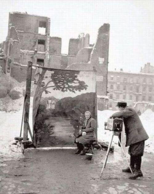 Warsaw, second world war