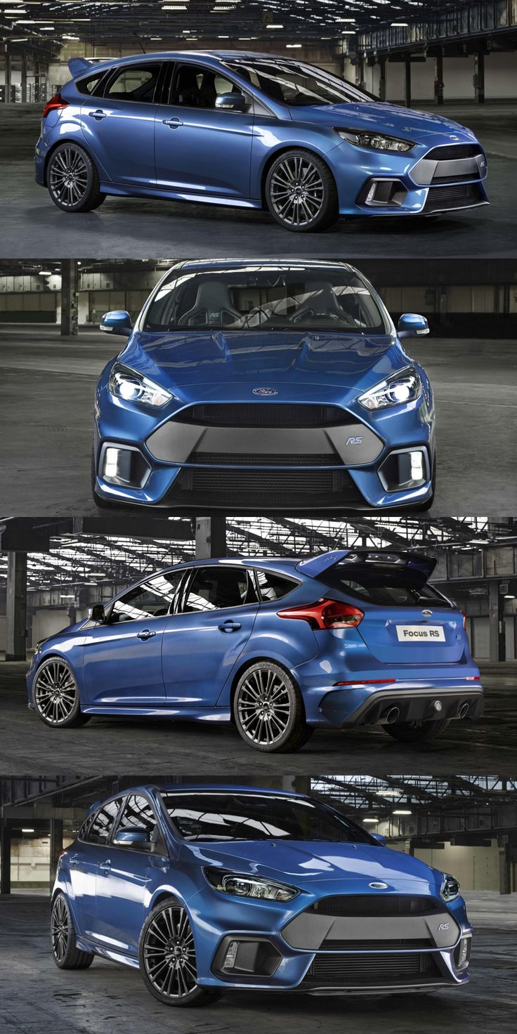 Ford Focus RS, all is revealed today at the global reveal in Düsseldorf, Germany. Hot New #Ford #FocusRS #Fordperformance
