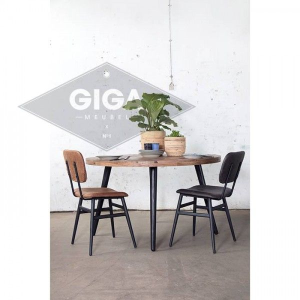 Industrie Esstisch Buck O 150 Cm Esszimmertisch Rund Tisch