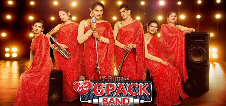 """The 6 Pack Band, India's first transgender band, has burst onto the music scene with the release of their first singletitled """"Hum Hain Happy."""""""