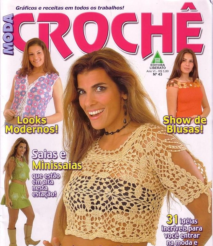Crochet Magazine En Espanol : crochet magazines crochet books booklets crochet crochet collections ...