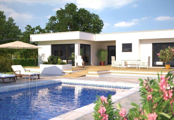 Traumhaus modern mit pool  Hanlo Hommage 172 - http://www.hausbaudirekt.de/haus/hanlo-hommage ...
