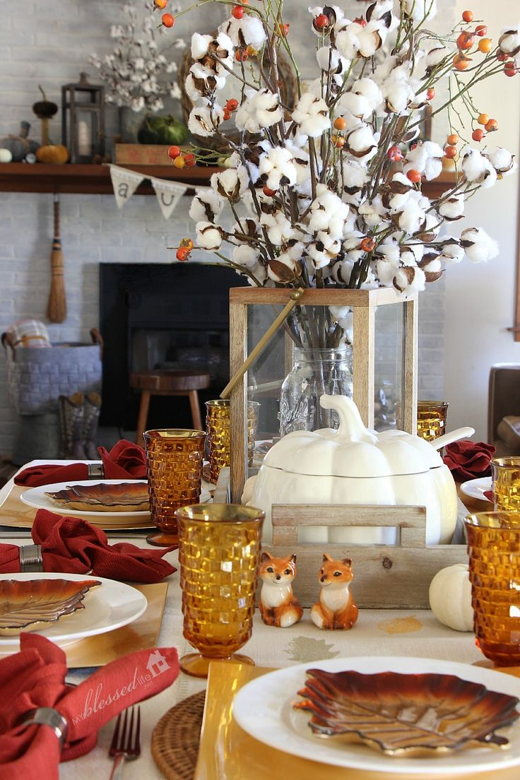 Fall Table Scapes 1035 Best Fall Tablescapes Images On Pinterest Thanksgiving
