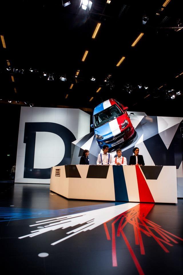 The new Opel ADAM at Paris Motor Show 2012
