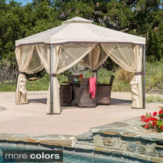 Shop for Skyline Fabric Gazebo by Christopher Knight Home. Get free delivery at Overstock.com - Your Online Garden
