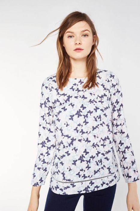 Cortefiel camisas y blusas primavera verano 2018 (1)