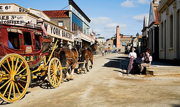 sovereign hill - ballarat, allow 2hrs for drive & $113 for entry