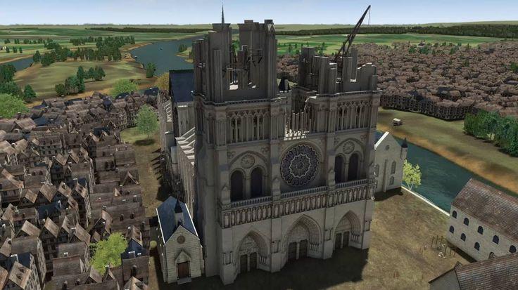 Paris 3D: a Tour of the City Through the Ages.  https://www.youtube.com/watch?v=-64kHmCJGMA