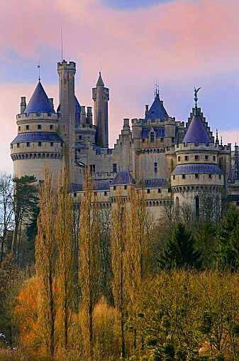 Castle in France. I want to go see this place one day. Please check out my website thanks. www.photopix.co.nz