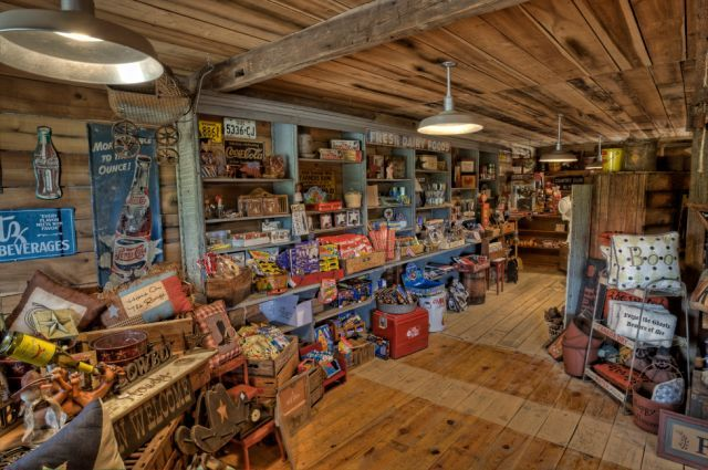 old general stores | in time at the Old Fashioned General Store filled with lots of old ...the lights and displays