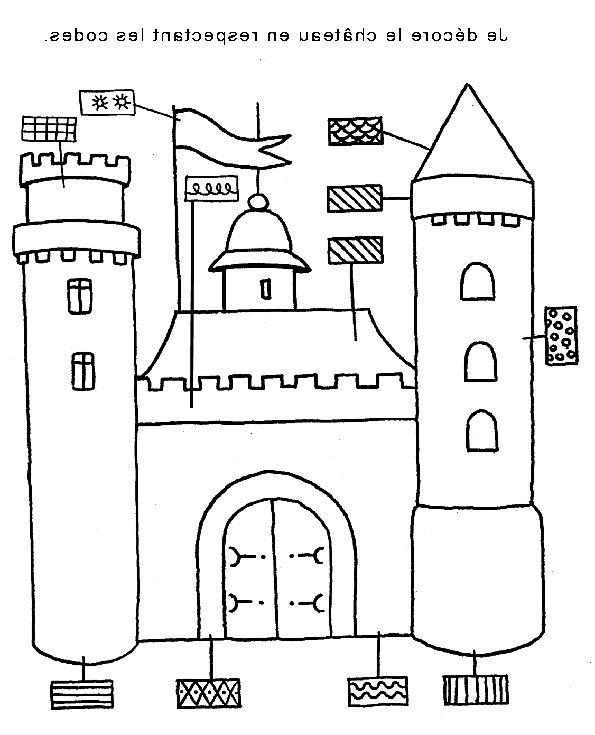 Coloriage Magique Chateau Nouveau Photos Graphisme Chateau Recherche Google Chevalierscoloriage Coloriage Moyen Age Maternelle Coloriage Magique Chateau