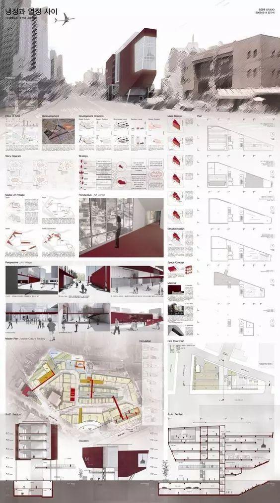 第二波!20张精致的建筑排版