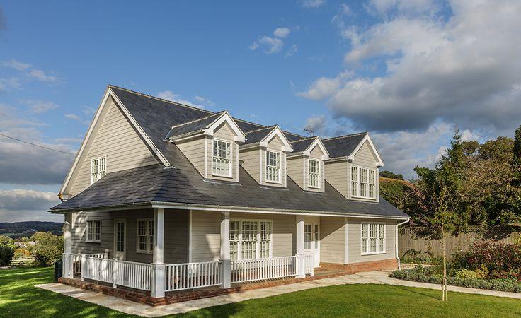 veranda and porch on New England home