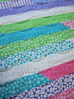 Hills Creek Quilter: May 2011 1600 jelly roll quilting