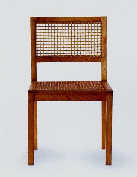 Ferdinand Kramer: Stuhl, 1925; © Bergische Universität Wuppertal, Fachbereich Kunst- und Designgeschichte