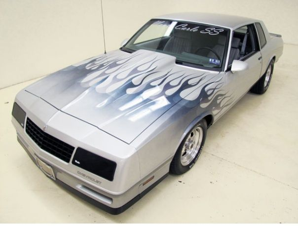 1987 Chevrolet Monte Carlo1987 Monte Carlo SS is a good example of top-of-the-line model of this generation - fully optioned and powered by a 305CI HO engine.