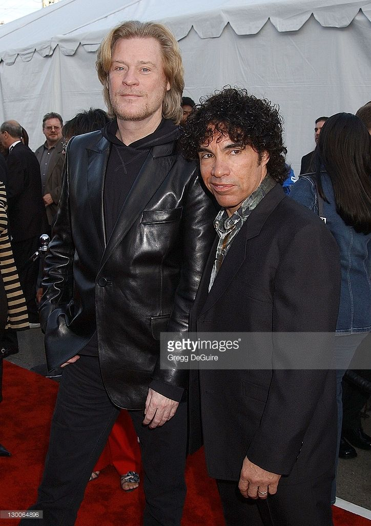 Hall and Oates during The 30th Annual American Music Awards - Arrivals by Gregg DeGuire at Shrine Auditorium in Los Angeles, California, United States.