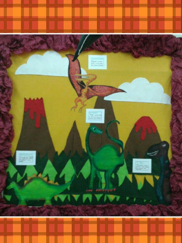 Painel dinossauros