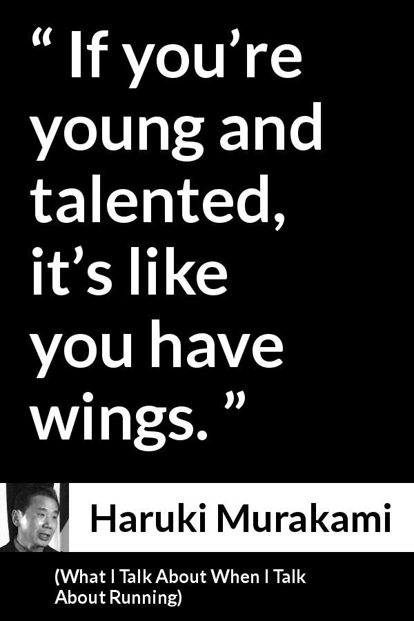 Haruki Murakami About Youth What I Talk About When I Talk About