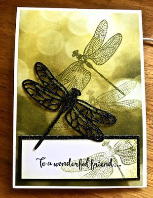 Stampin' Up!® Australia: Ann Craig - distINKtive STAMPING designs: Dragon Fly Dreams With A Little Bokeh