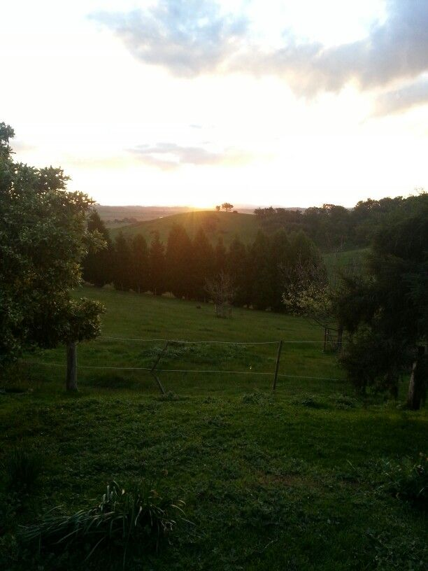 Another unique sunset at Annie's farm cottages #accommodation #farmstay #Victoria #Australia