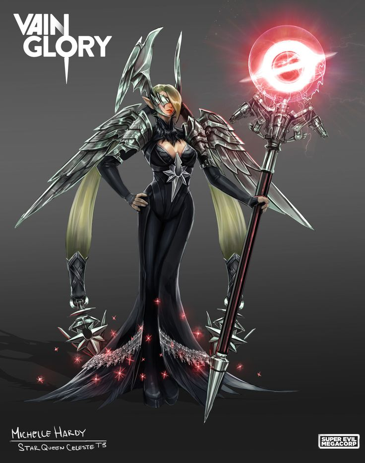 Star Queen Celeste Tier 3 Concept ~Vainglory, Michelle Hardy on ArtStation at https://www.artstation.com/artwork/wNXLg