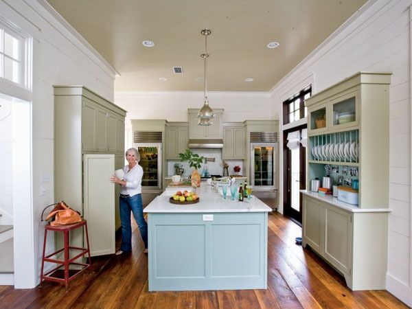 Southern Living Kitchens | High Functional Kitchen From Southern Living |  Kitchen