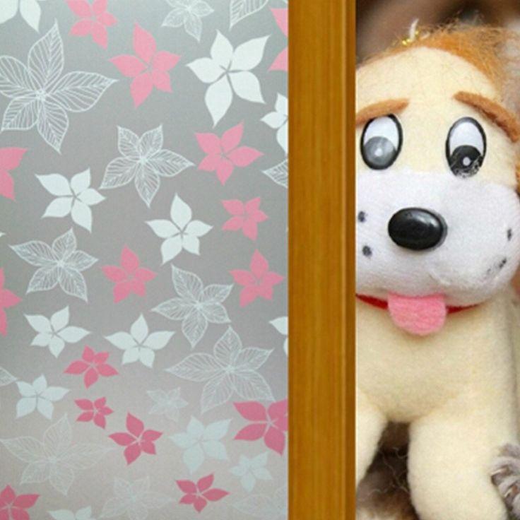 Amazon.co.jp: EVTECH(TM) ビニール接着無料装飾的な窓のフィルムプライバシー住宅窓のフィルムドアのプライバシーフィルム45X200CM、17.7バイ78.74インチ、ダイニングルームのための適切な/クローゼット/ドア/キッチン/大学/病院/寝室/子供ルーム/ガレージ: Home & Kitchen