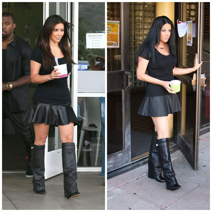 Kim K Look For Less! www.fashionswain.com