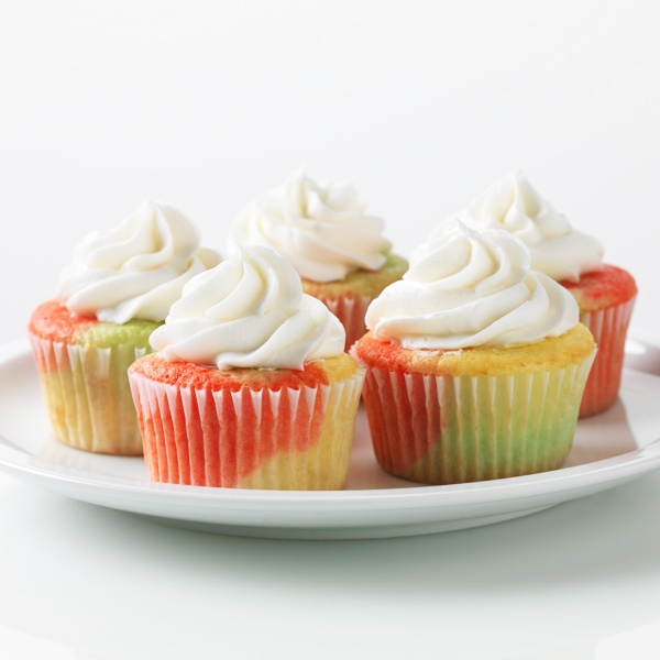 fruity cupcakes rainbow cupcakes easter cupcakes yummy cupcakes making ...