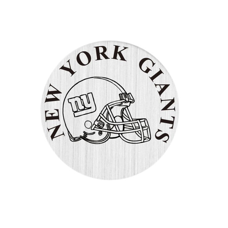 22mm Floating Charms Stainless Steel NEW YORK GIANTS Window Floating Plates For 30mm Living Floating Lockets #Affiliate