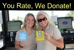 Through August 31, 2012, for every unique rating of a Utah State Park on the site, ParkVisitor will donate a dollar to that park!