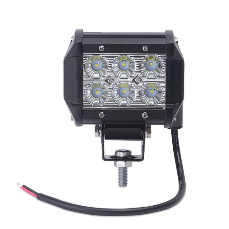 14.27$  Watch here - http://alizbw.shopchina.info/1/go.php?t=32748056773 - 1pcs 4inch motorcycle led work light led 18w  led offroad light bar off road 4X4 ATV for truck car motorcycle Boat tractor truck 14.27$ #buyonline