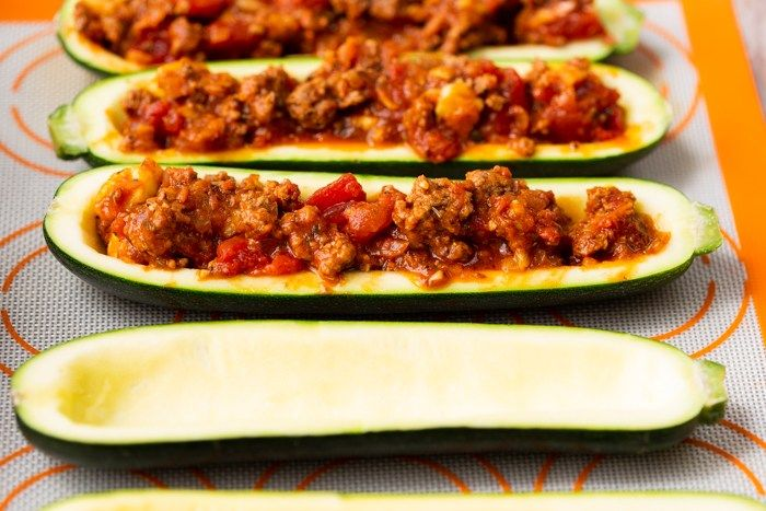 Beef Stuffed Zucchini Boats Low Carb Easy Peasy Meals Recipe Vegetable Platter Zucchini Zucchini Boats